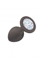 Анальная пробка Emotions Cutie Small Black moonstone crystal 4011-08Lola