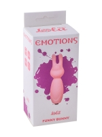 Мини вибратор Emotions Funny Bunny Light pink 4007-02Lola